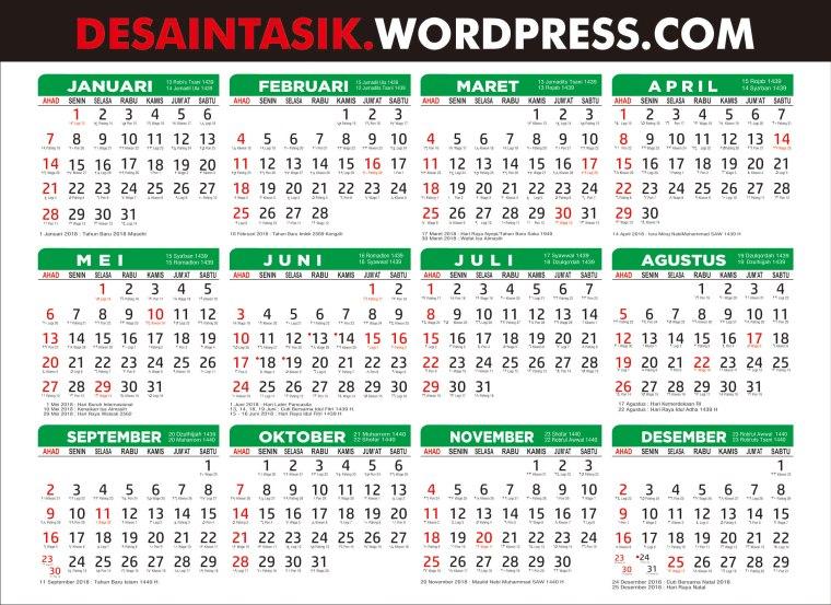 [desaintasik]kalender-2018