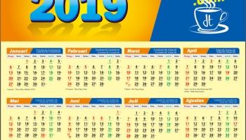 download kalender 2019 cdr free