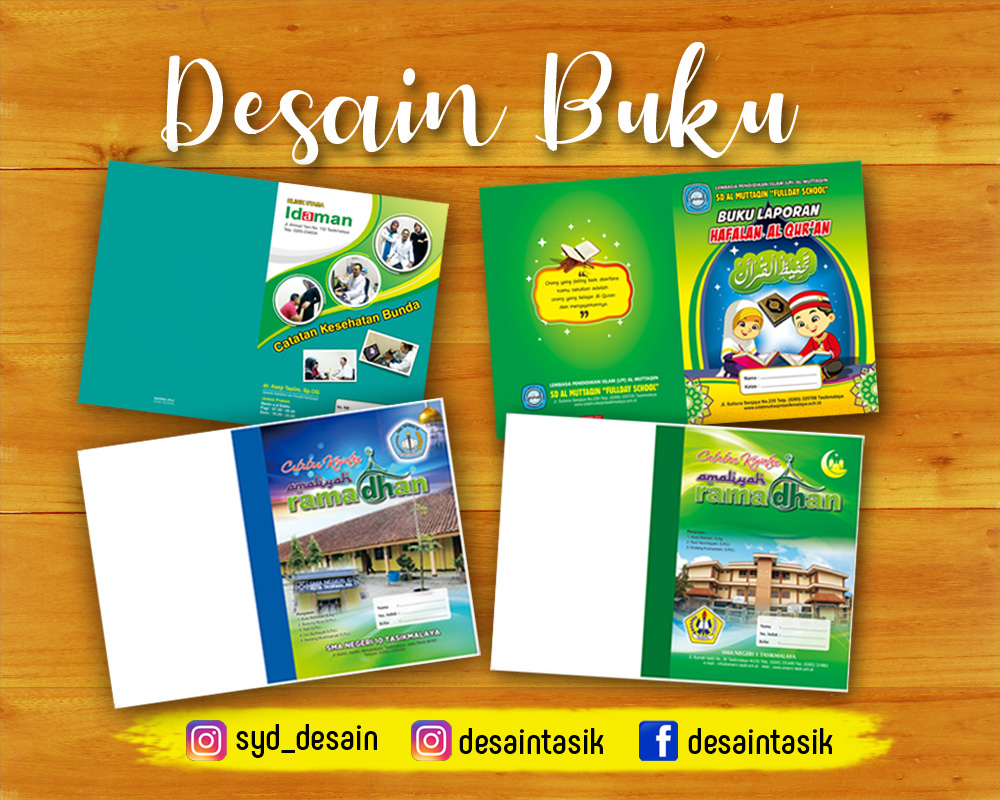 Desain cover buku