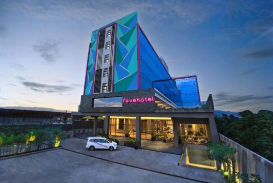 Gambar Peta Lokasi Fave Hotel Tasikmalaya